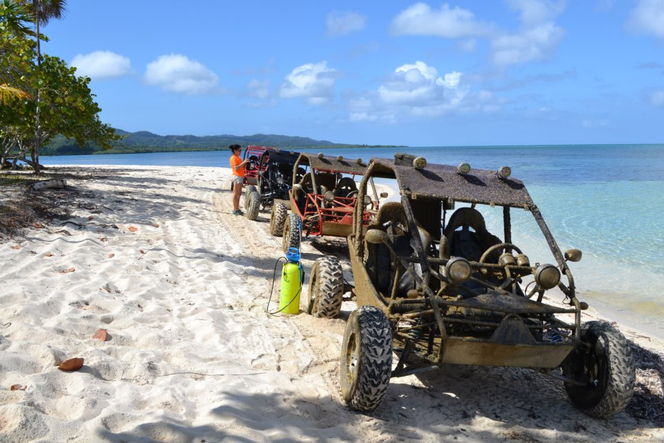 Roatan Tours - Sand Blasters Dune Buggy Tours