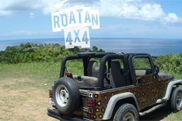 Getting Around Roatan by Four Wheel Drive